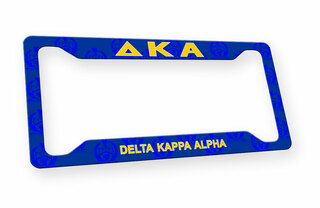 Delta Kappa Alpha Custom License Plate Frame
