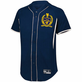 Delta Kappa Alpha Game 7 Full-Button Baseball Jersey