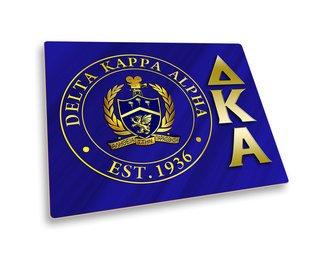 Delta Kappa Alpha Hard Mousepad