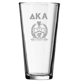 Delta Kappa Alpha Mixing Glass
