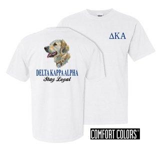 Delta Kappa Alpha Stay Loyal Comfort Colors T-Shirt