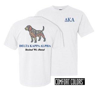 Delta Kappa Alpha United We Stand Comfort Colors T-Shirt