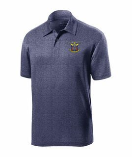 DISCOUNT-Delta Kappa Epsilon- World Famous Greek Crest - Shield Contender Polo