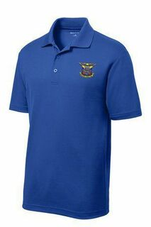 DISCOUNT-Delta Kappa Epsilon- World Famous Greek Crest - Shield Vital Polo