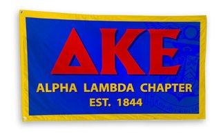 Delta Kappa Epsilon 3 x 5 Flag