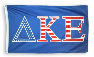 Delta Kappa Epsilon 3 X 5 USA Flag