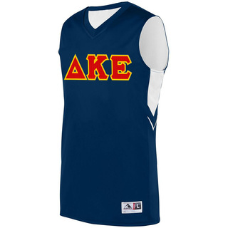 DISCOUNT-Delta Kappa Epsilon Alley-Oop Basketball Jersey