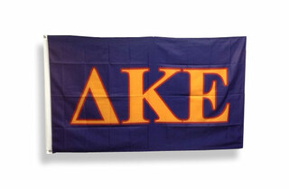 Delta Kappa Epsilon Big Greek Letter Flag