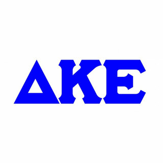 Delta Kappa Epsilon Big Greek Letter Window Sticker Decal