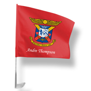 Delta Kappa Epsilon Car Flag