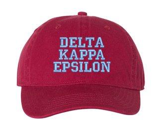 Delta Kappa Epsilon Comfort Colors Pigment Dyed Baseball Cap