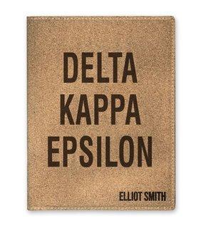 Delta Kappa Epsilon Cork Portfolio with Notepad