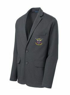 DISCOUNT-Delta Kappa Epsilon Crest - Shield Blazer