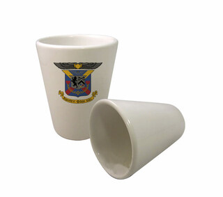 Delta Kappa Epsilon Crest Ceramic Collectors Glass