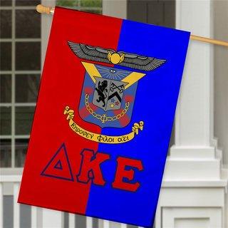 Delta Kappa Epsilon Crest House Flag