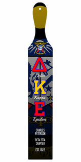 Delta Kappa Epsilon Custom Full Color Paddle