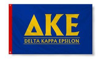 Delta Kappa Epsilon Custom Line Flag