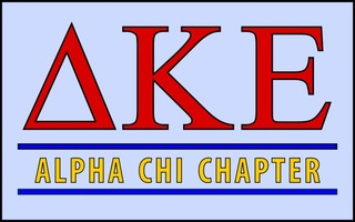 Delta Kappa Epsilon Custom Line Sticker Decal