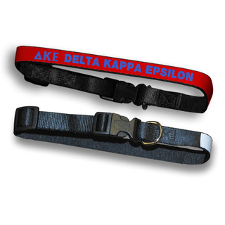 Delta Kappa Epsilon Dog Collar