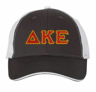 Delta Kappa Epsilon Double Greek Trucker Cap