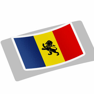 Delta Kappa Epsilon Flag Decal Sticker