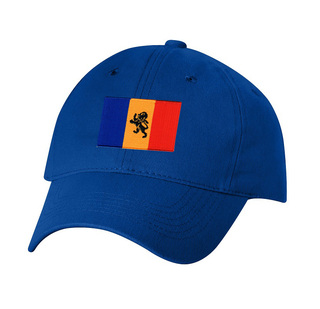 CLOSEOUT - Delta Kappa Epsilon Flag Patch Baseball Hat