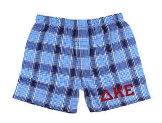 Delta Kappa Epsilon Flannel Boxer Shorts