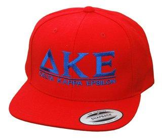 Delta Kappa Epsilon Flatbill Snapback Hats Original