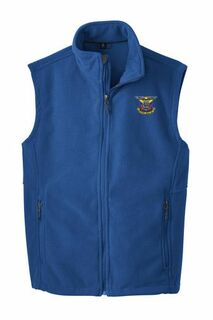 Delta Kappa Epsilon Fleece Crest - Shield Vest
