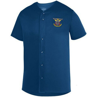 DISCOUNT-Delta Kappa Epsilon Fraternity Crest - Shield Sultan Baseball Jersey