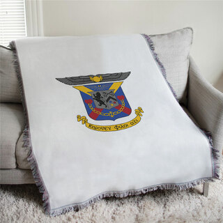 Delta Kappa Epsilon Full Color Crest Afghan Blanket Throw