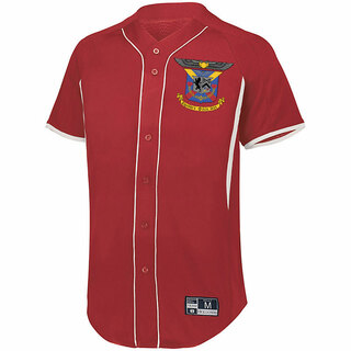 Delta Kappa Epsilon Game 7 Full-Button Baseball Jersey