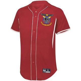 Delta Kappa Epsilon Game 7 Full-Button Baseball Jersey