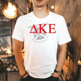 Delta Kappa Epsilon Greek Crest - Shield T-Shirt