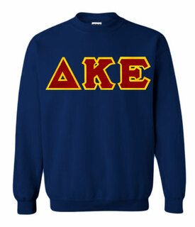 Delta Kappa Epsilon Greek Crewneck- MADE FAST!