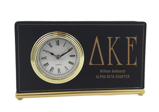 Delta Kappa Epsilon Horizontal Desk Clock