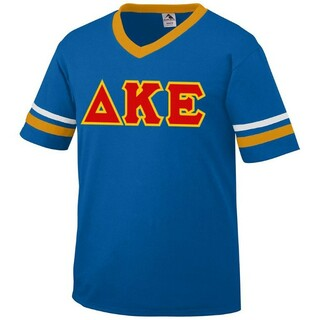 DISCOUNT-Delta Kappa Epsilon Jersey With Custom Sleeves