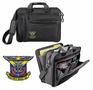 Delta Kappa Epsilon Crest Briefcase Attache