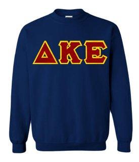 Delta Kappa Epsilon Lettered Crewneck Sweatshirt