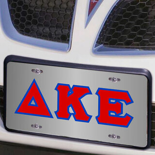 Delta Kappa Epsilon Lettered License Cover