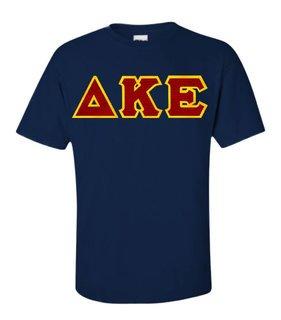Delta Kappa Epsilon Lettered T-Shirt