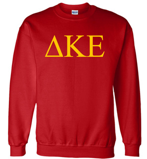 Delta Kappa Epsilon Lettered World Famous $19.95 Greek Crewneck