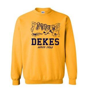 Delta Kappa Epsilon Logo Crewneck Sweatshirt