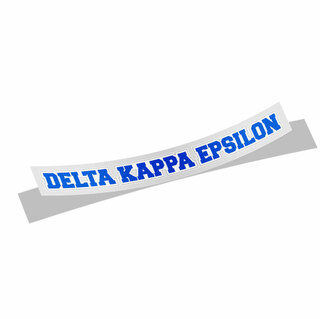 Delta Kappa Epsilon Long Window Sticker