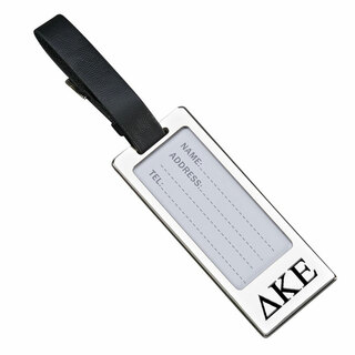 Delta Kappa Epsilon Luggage Tag With Identification Window