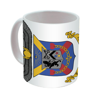 Delta Kappa Epsilon Mega Crest - Shield Coffee Mug