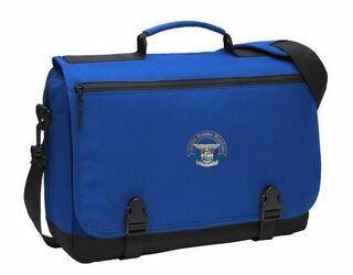 DISCOUNT-Delta Kappa Epsilon Messenger Briefcase