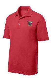 DISCOUNT-Delta Kappa Epsilon Emblem Polo