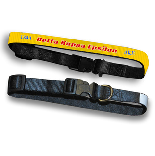 Delta Kappa Epsilon Pet Collar