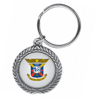 Delta Kappa Epsilon Pewter Key Ring